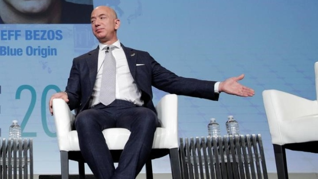 Bezos Selling Us 1b Of Amazon Stock To Fund Blue Origin Rocket