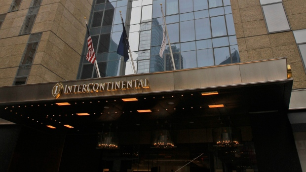 The InterContinental hotel in New York