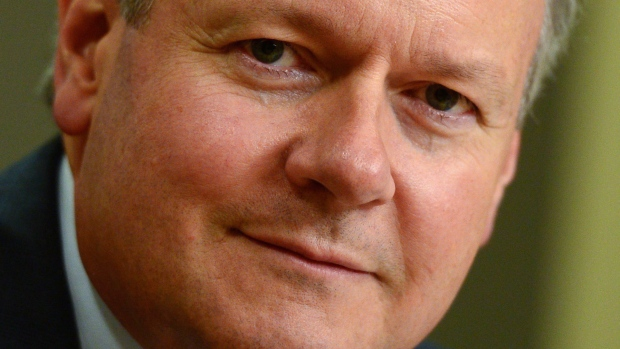 Bank of Canada governor, Stephen Poloz,