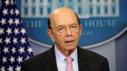 U.S. Commerce Secretary Wilbur Ross speaks about new tariffs on Canadian softwood lumber