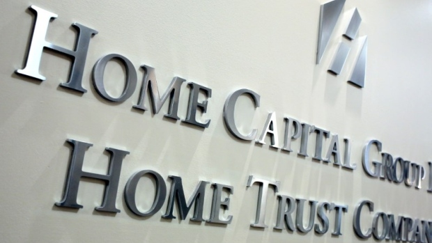 Toronto mortgage lender Home Capital says its deposits continue to fall
