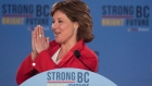 B.C. Liberal leader Christy Clark following the B.C. Liberal election in Vancouver.