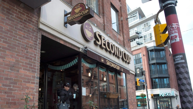Second Cup store in Toronto
