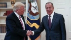 U.S. President Trump and Russian Foreign Minister Sergey Lavrov