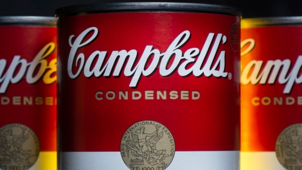 Cans of Campbell's soup are photographed in Washington.