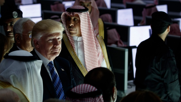Trump in Riyadh, Saudi Arabia