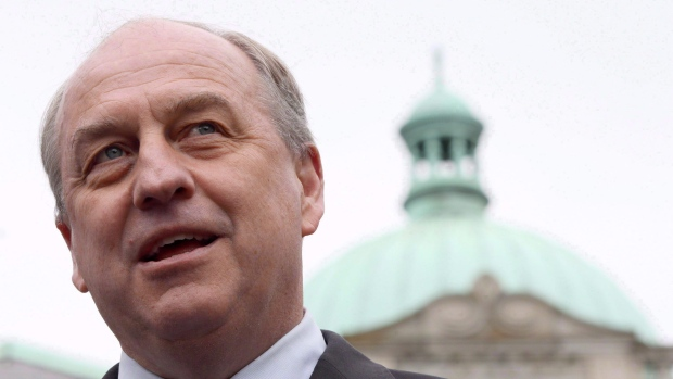 B.C. Green party leader Andrew Weaver