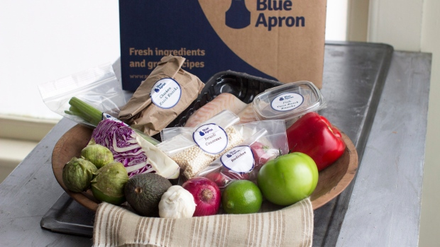 Meal-Kit Startup Blue Apron Is Going Public