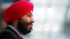 Federal Minister of Innovation, Science, and Economic Development Navdeep Bains