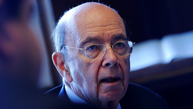 U.S. Commerce Secretary Wilbur Ross sits for an interview in his office in Washington on May 9, 2017