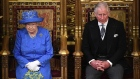 Britain's Queen Elizabeth II and Prince Charles