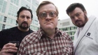 John Paul Tremblay, as Julian, left, Mike Smith, as Bubbles, centre, and Robb Wells, as Ricky, right