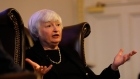 U.S. Fed Chair Janet Yellen speaks during a discussion with Lord Nicholas Stern