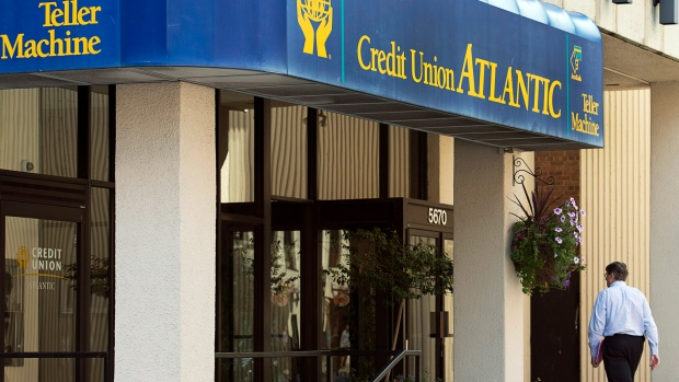 A branch of the Credit Union Atlantic is seen in Halifax on Tuesday, Aug. 27, 2013.