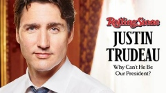 Justin Trudeau, Rolling Stone