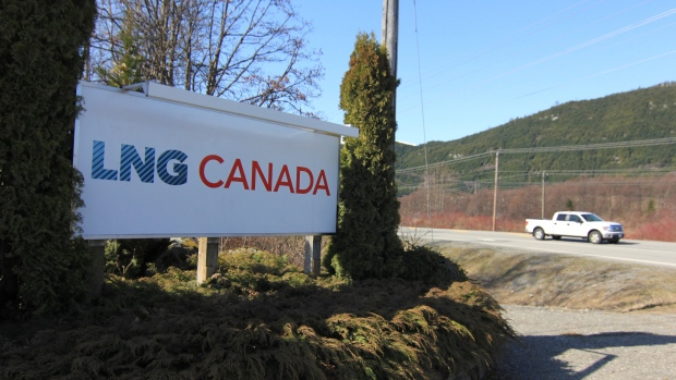 Royal Dutch Shell LNG Canada Kitimat British Columbia