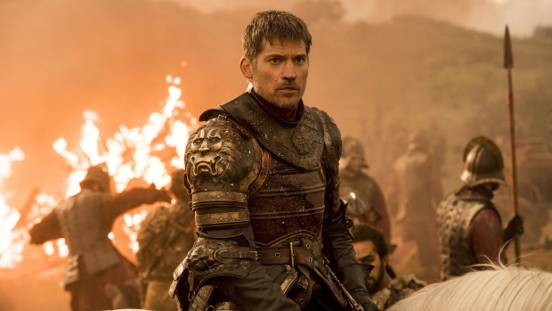"This image released by HBO shows Nikolaj Coster-Waldau as Jaime Lannister in ""Game of Thrones"""