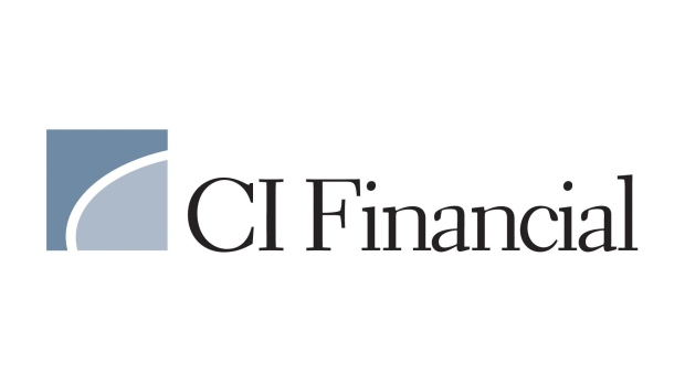 The corporate logo for CI Financial Corp. (TSX:CIX) is shown.