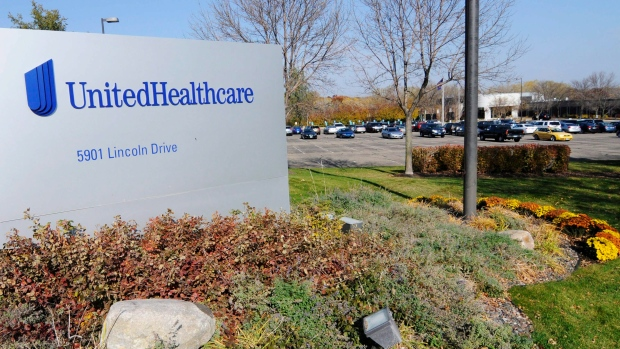 part of the UnitedHealth Group, Inc. campus in Minnetonka, Minn.