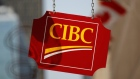 A CIBC sign is seen outside of a branch in Ottawa