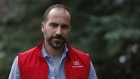 Uber CEO Dara Khosrowshahi in Sun Valley
