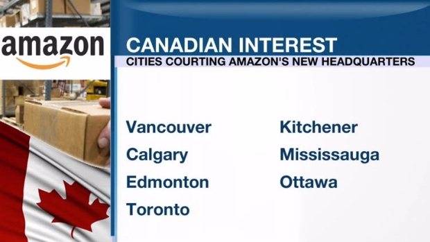 Toronto can offer Amazon incentives for new base: Tory - BNN