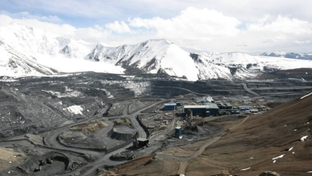 A general view of the Kumtor mine in Kyrgyzstan May 31, 2011.