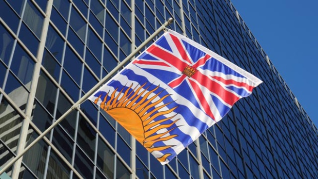 The British Columbian flag.