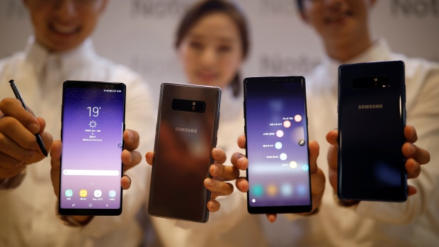 Samsung Electronics' Galaxy Note 8