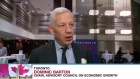 Dominic Barton, chair of Finance Minister Bill Morneau's Advisory Council on Economic Growth