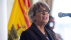 New Brunswick Finance Minister Cathy Rogers