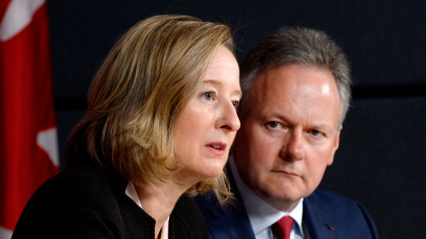 Bank of Canada's Carolyn Wilkins and Stephen Poloz