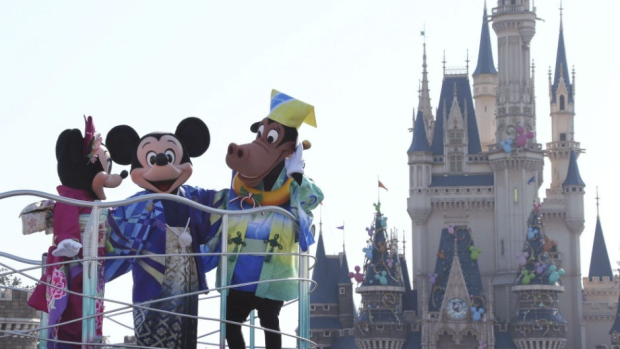 Disney Reports Lackluster Fourth-Quarter Earnings, Stock Dips
