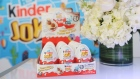 A view of the new Kinder Joy eggs at Kinder Joy Launch Event on Nov. 13, 2017