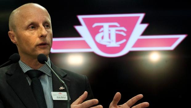 Toronto Transit head Andy Byford named New York City Transit president