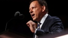Paypal co-founder Peter Thiel speaks at the Republican National Convention in Cleveland, Ohio