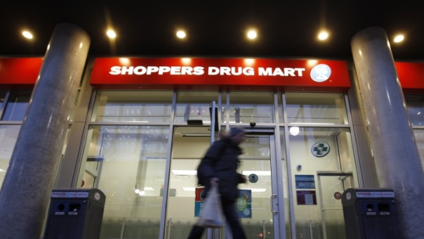 A Shoppers Drug Mart store is pictured in downtown Ottawa, February 10, 2011