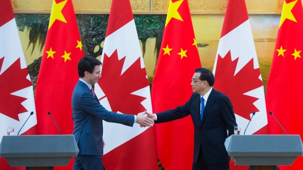 Prime Minister Justin Trudeau meets Chinese President Xi Jinping