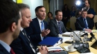 Finance Minister Bill Morneau speaks as he meets with his provincial and territorial counterparts