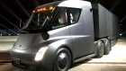 Tesla electric semi truck
