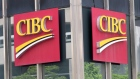 The CIBC bank logo is seen in Montreal
