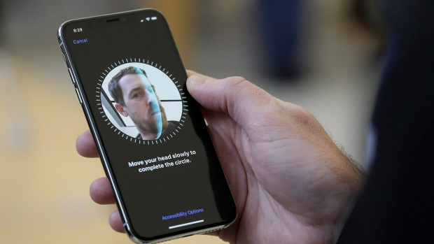 Apple facial recognition iPhone X