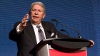 CP Rail's CEO E. Hunter Harrison attends the company's AGM in Toronto on May 1, 2013.