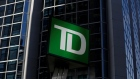 FILE PHOTO: A Toronto-Dominion Bank sign is seen outside of a branch in Ottawa