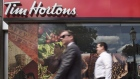 Tim Hortons downtown Toronto