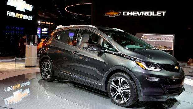 Chevrolet Bolt EV Detroit Auto Show Jan. 2018