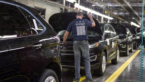 Ford to cut 450 jobs at Oakville assembly plant in Ontario