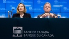 Bank of Canada Senior Deputy Governor Carolyn Wilkins and Bank of Canada Governor Stephen Poloz