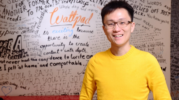 Wattpad CEO and co-founder Allen Lau