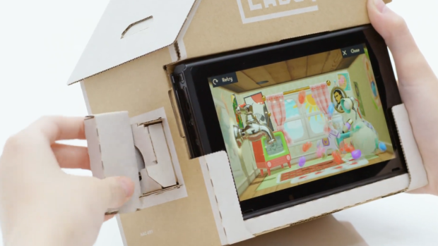 Nintendo Reveals Labo DIY Cardboard Accessories For the Switch